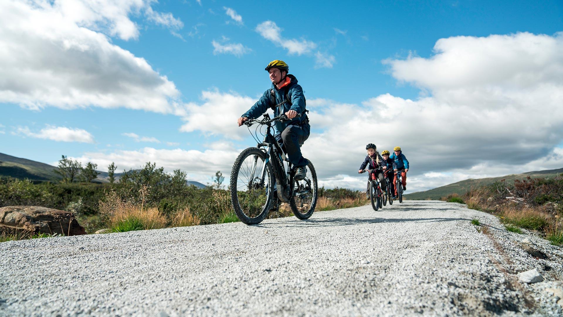 Syklister på tur